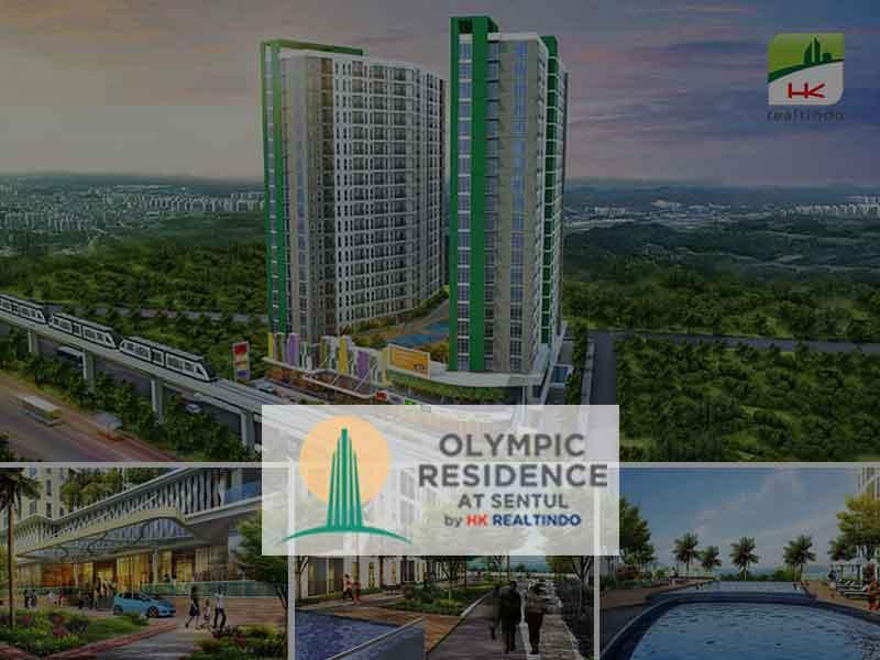 Olympic Residence Sentul, Hunian Modern Kaya Fasilitas Pendukung