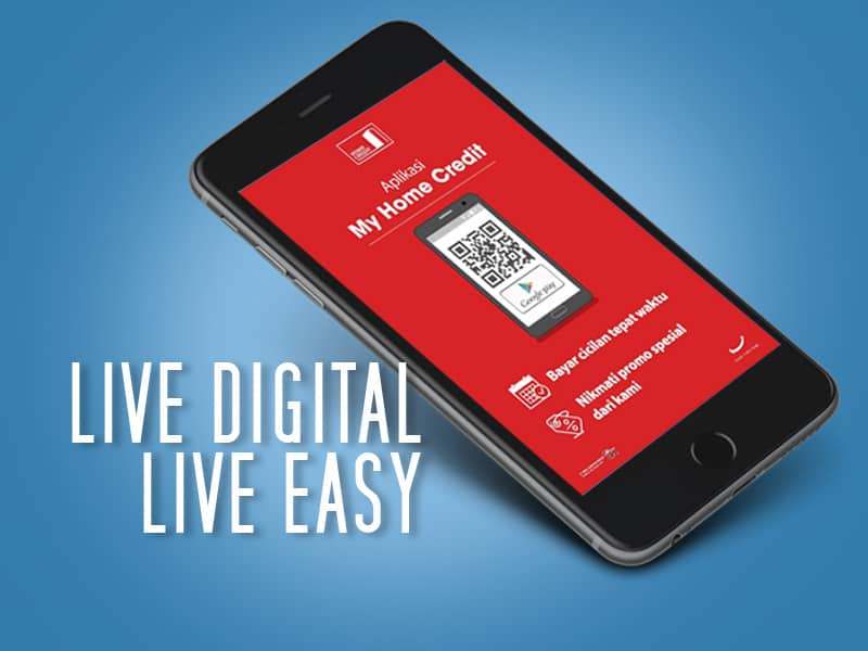 LOMBA BLOG #LIVEDIGITAL HOME CREDIT, LIVE DIGITAL LIVE EASY